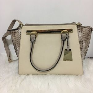Aldo Winged Shoulder Tote Bag
